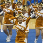 Pac-Five Varsity cheerleaders took the ILH title.