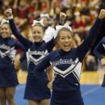 Kamehameha Schools JV cheerleaders competed.