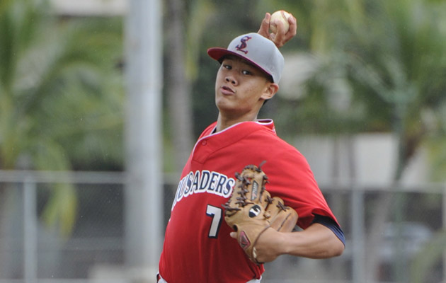 Saint Louis right-hander Jordan Yamamoto accepted a scholarship offer to the University of Arizona.