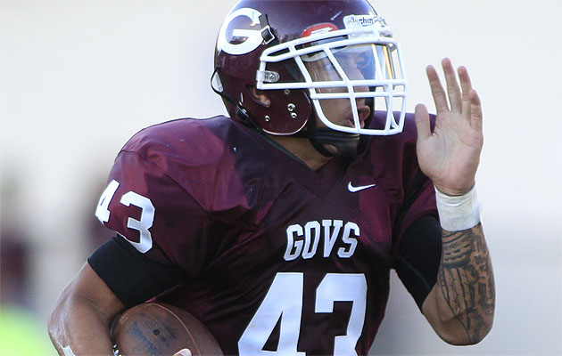 Farrington's Sanele Lavatai has the Governors' offense humming again. Honolulu Star-Advertiser Photo by Krystle Marcellus