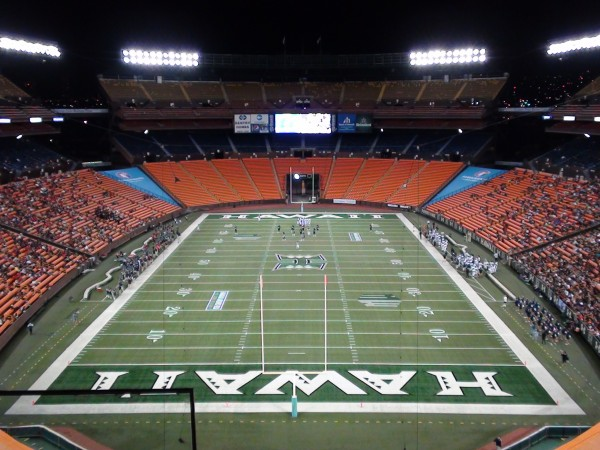 Every team's dream: to play in Aloha Stadium at the end of the season. (Paul Honda / Star-Advertiser)