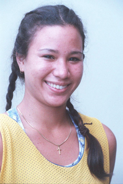Lisa Kowal in 1996. (Craig Kojima / Star-Advertiser)