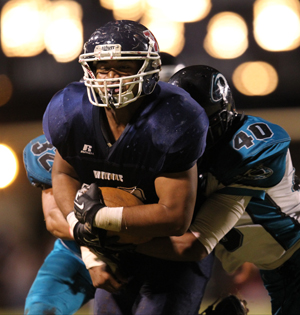 Mahvan Tau has rushed for 593 yards and four TDs for Waianae. (Darryl Oumi / Special to the Star-Advertiser)