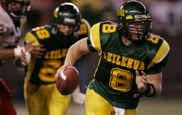 Andrew Manley led Leilehua to an upset of Mililani in 2007. (Star-Advertiser file)