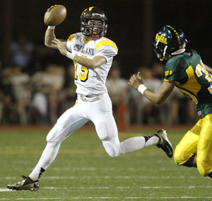 McKenzie Milton has thrown for 983 yards and 10 TDs for Mililani. (Jamm Aquino / Star-Advertiser)