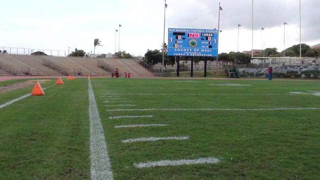 War Memorial Stadium. (Paul Honda / Star-Advertiser)