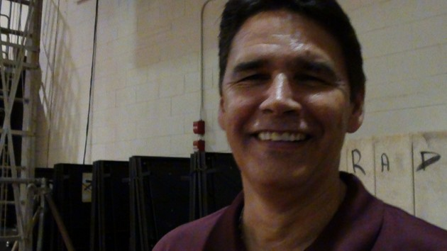 Farrington coach Allan Silva praised his team's togetherness after a win over Pearl City. (Paul Honda / Star-Advertiser)