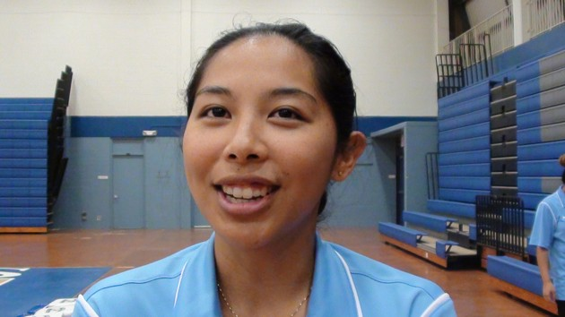 Kailua coach Mandy Llamedo. (Paul Honda / Star-Advertiser)