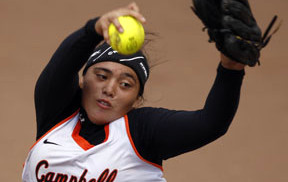 Campbell's Elisa Favela has had a nice run through the state tournament. Photo by  Krystle Marcellus