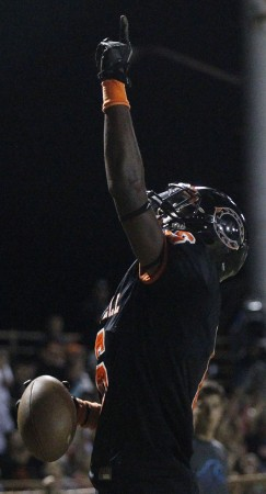Terell Johnson has given Campbell quite a running threat. Honolulu Star-Advertiser photo by Krystle Marcellus