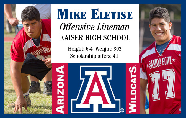 Kaiser's Eletise headed to the Pac-12